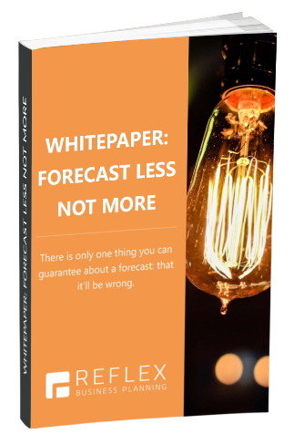 forecast less not more whitepaper cover