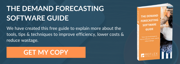 THE DEMAND FORECASTING SOFTWARE GUIDE